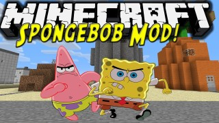 Minecraft Spongebob Mod Download