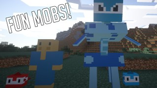 Over Crafted Mobs Mod Download
